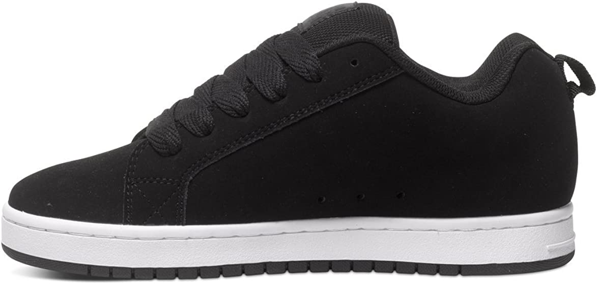 DC Shoes Herren Court Graffik SE Mens Shoe Skate-Schuh, White White Gum Black Dark Used