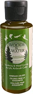 product image for Badger Air-Brush Co. 4-Ounce Woods and Water Airbrush Ready Water Based Acrylic Paint, Black Umber