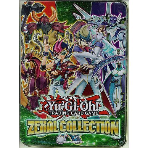 Konami Yu-Gi-Oh Zexal Collection Tin (Best Yugioh Deck Card List)