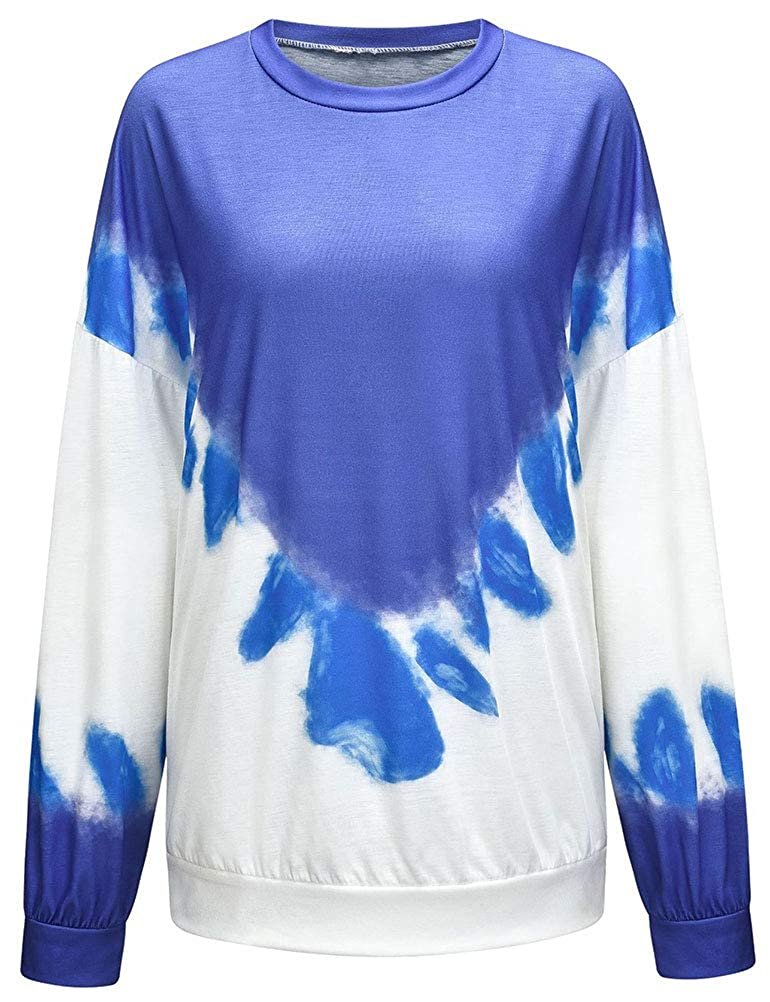 Ezcosplay Women Turtle Neck Long Sleeve Checks Patchwork Button Tunic Sweatshirt