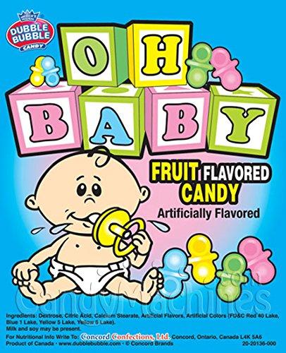 BABY Chupete con forma de caramelo – 3 libras a granel con ...