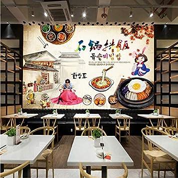 Wallpaper Papier Peint La Cuisine Coreenne Cuisine Barbecue Grill De