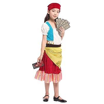 LOLANTA Traje de Juego de rol de adivina de Disfraces para niñas ...