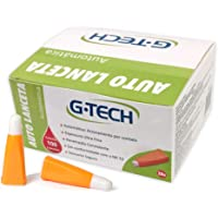 Auto Lanceta Automática G-tech 28g C/ 100 Unidades