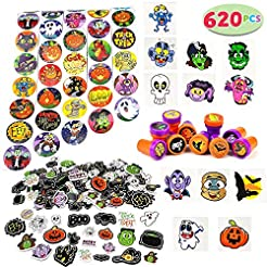 JOYIN Over 600 Pieces Halloween Craft As...