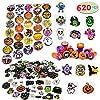 Best Epic Trends 61L2LjNC2yL._SS100_ JOYIN Over 600 Pieces Halloween Craft Assortment Kit Including Halloween Temporary Tattoos Halloween Stickers, Halloween…