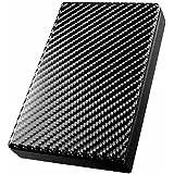 I-O DATA 外付けHDD ハードディスク 2TB ポータブル テレビ録画 PS4 Mac 日本製 土日サポート HDPT-UT2DK