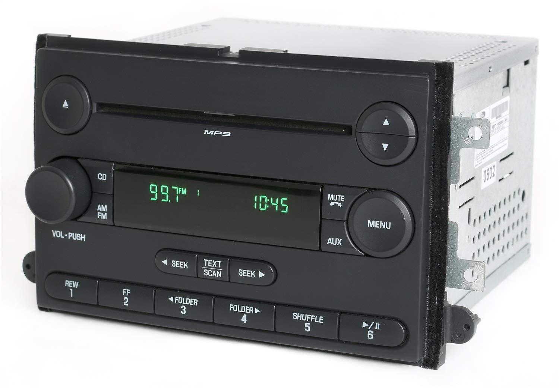 Amazon.com: Ford Fusion Mercury Milan 2006-2007 Radio AM FM mp3 CD Player  OEM 6E5T-18C869-AK: Car Electronics