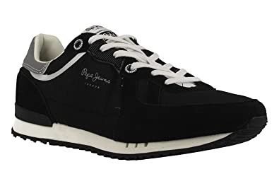 Zapatillas PEPE JEANS PMS30415 999BLACK: Amazon.es: Zapatos y complementos