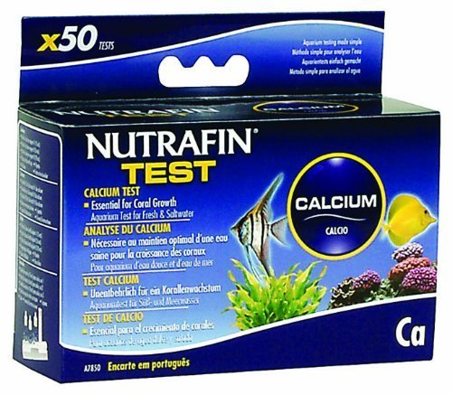 Nutrafin Calcium Test for Fresh and Saltwater by Nutrafin
