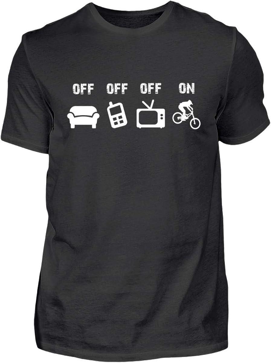 Shirtee Bicicleta Montaña Downhill Biker MTB - Camisa de Hombre: Amazon.es: Ropa y accesorios