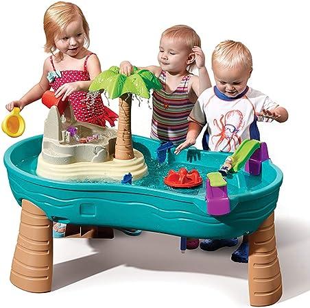 XDLYM Caja de Arena para niños Juguetes para la Playa, para Juguetes de Playa con Accesorios Jardín Interior y Exterior Juguetes para Niños: Amazon.es: Hogar