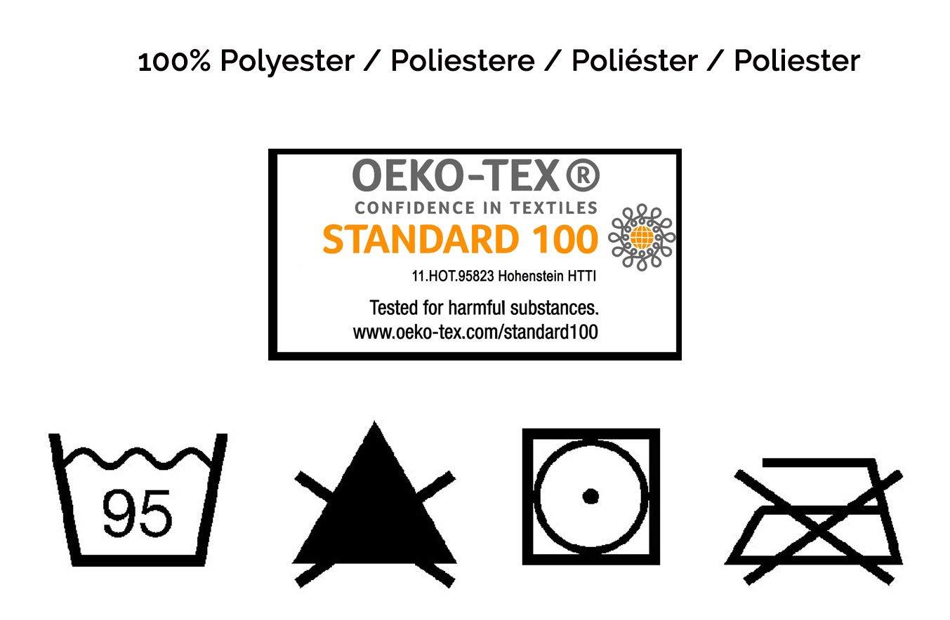 100/% Poliestere ZOLLNER Imbottitura per Cuscini di Alta qualit/à 1000 g ca