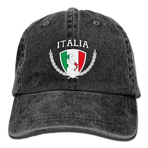 Italia Italy Italian Flag Adult Cap Adjustable Cowboys Hats Baseball Cap 1781b466f