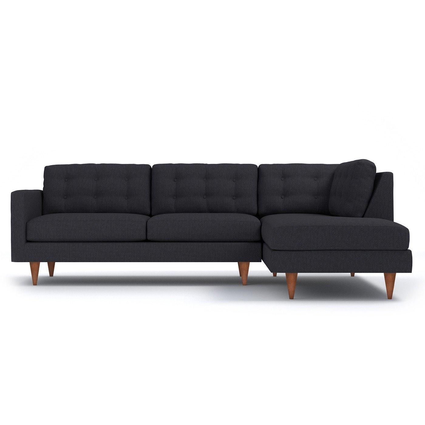 Amazoncom Apt2b Logan 2pc Sectional Sofa Raf Right Arm Facing