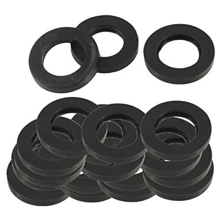 20 Pcs 19mm Outside Dia Rubber Gasket Washer Seal Rings: Amazon.co ...