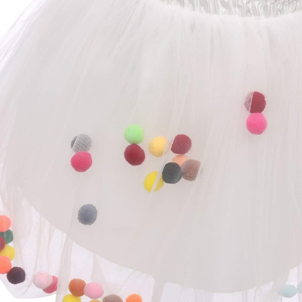 Baby Girls Tutu Skirt Kids Toddlers Ballet Tulle Dance Skirt