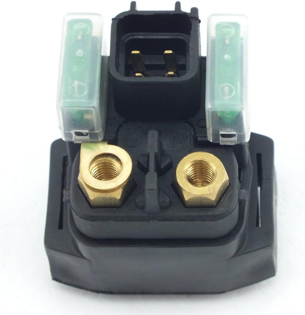Rel/è solenoide di avviamento per Suzuki VL800 VL800T VL800Z VL800C Intruder 1000 DL1000 DL100K2 V-Strom 2001 2002 2003 2004 2005 2006 2007 2008 2009