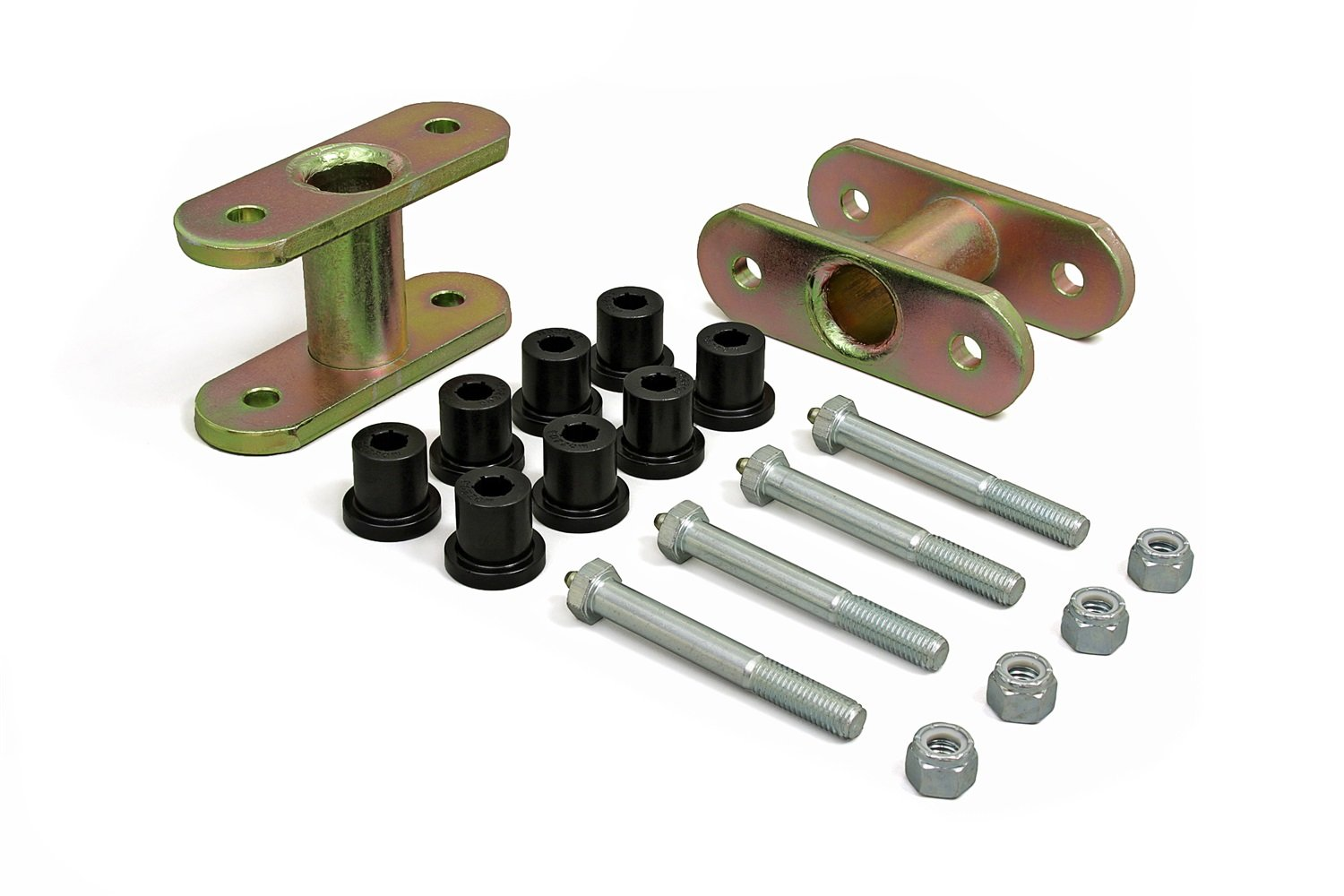 Daystar, Jeep CJ ½'' Front Lift Greasable Shackle, fits 1976 to 1986 2/4WD, KJ61004BK, Made in America