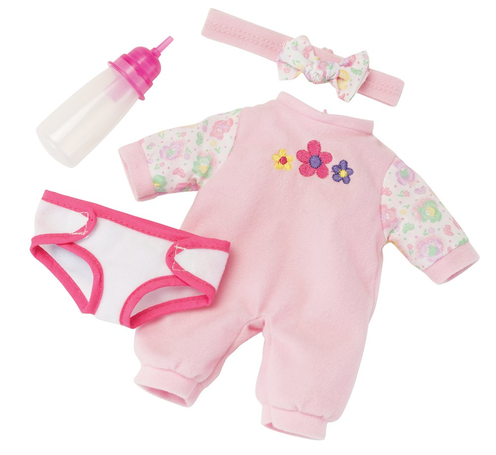 Kidoozie Snug and Hug Baby Doll Includes Removable Diaper and a Bottle Ages 12 Months and Up