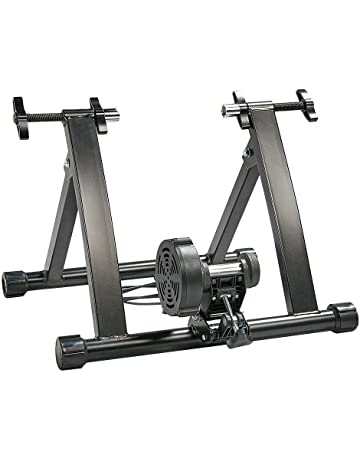 4e742cdad41 Yaheetech Foldable Indoor Bike Trainer 8 Level Magnetic Resistance Turbo  Trainer