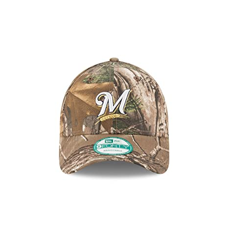3e4cef8711ef21 ... reduced milwaukee brewers the league realtree camo 9forty adjustable hat  cap 83748 73b7e ...