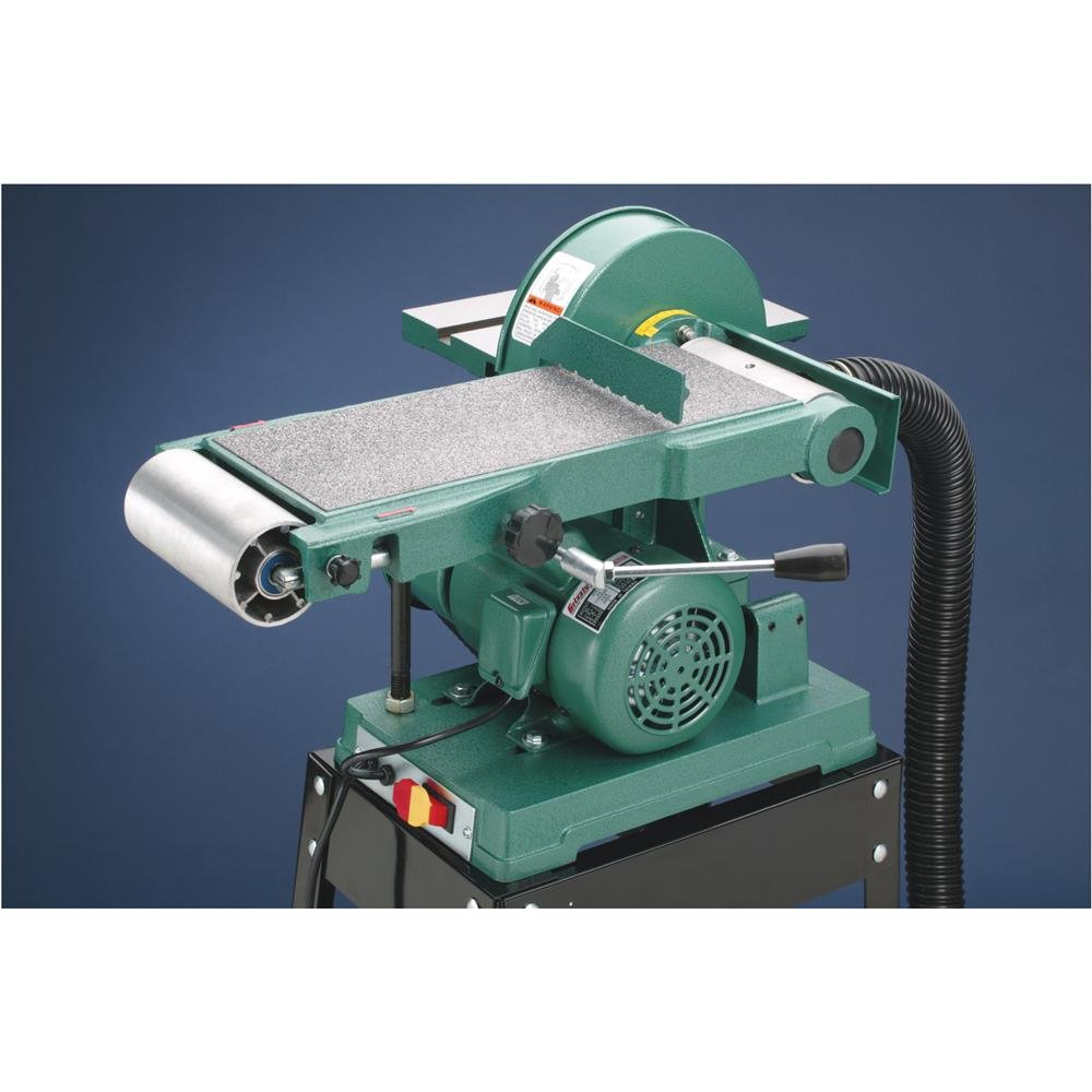 Grizzly G1014Z Disc Z Series Combination Sander with Belt, 6 x 48-Inch by Grizzly (Image #3)