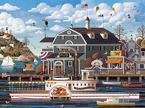 Buffalo Games - Charles Wysocki - Fairhaven by the Sea - 1000 Piece Jigsaw Puzzle by Buffalo Games