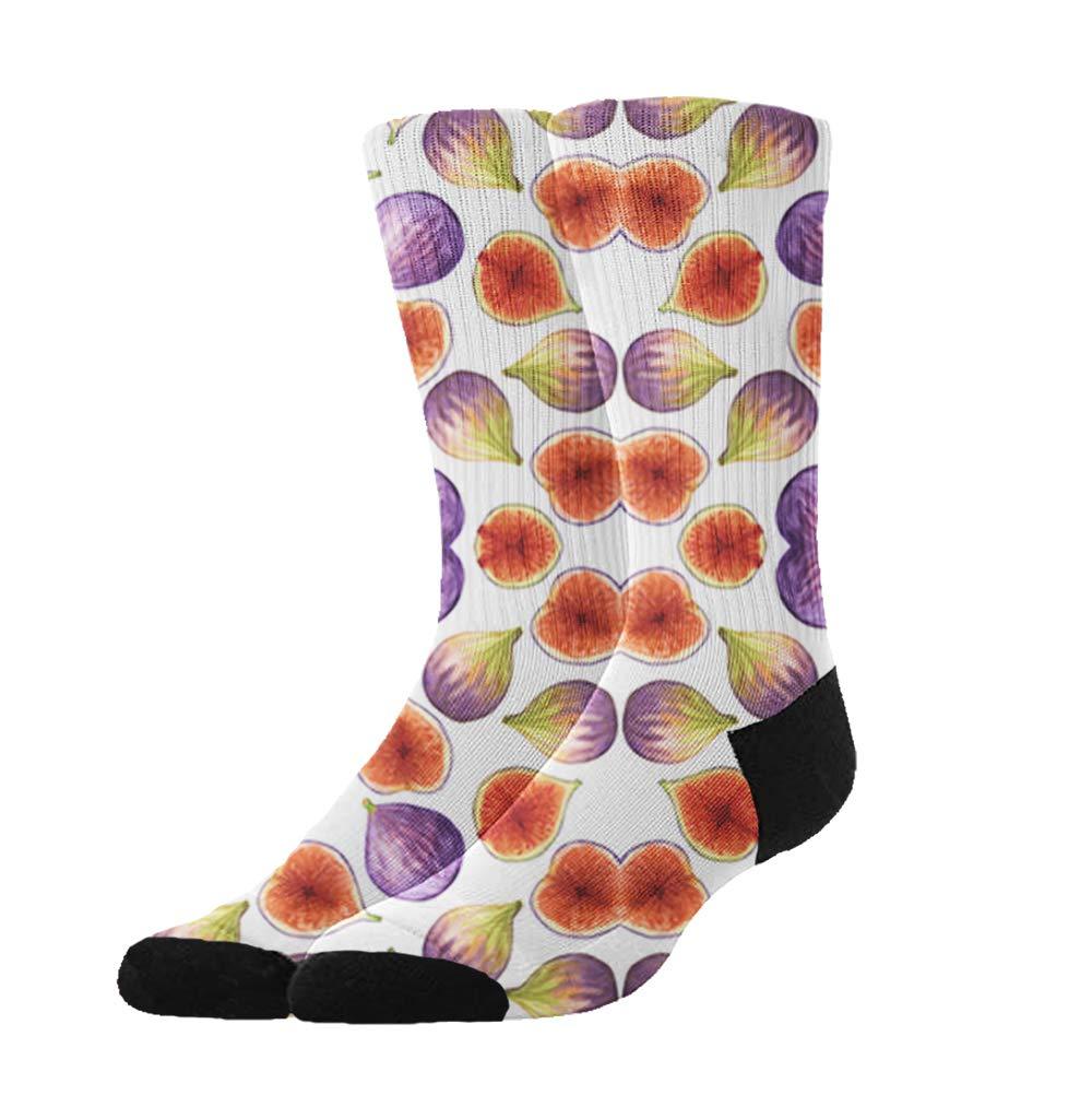 Winter Socks Women Men Socks Warm Comfort Socks, Huadduo Figs Pink