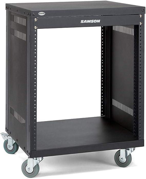 Samson Srk12 19 Equipment Rack 12 He Inkl Rollen Musikinstrumente
