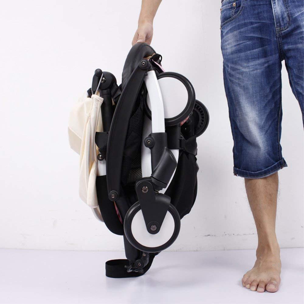 accessoires pour Babyzen YoYo cuir PU noir Ezkindheit Pare-chocs pour poussette de bébé