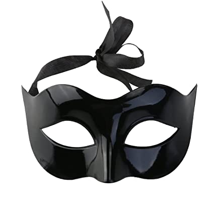 amazon com hello halloween black party mask for women classic style
