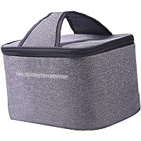 oshhni UV Sanitizer Bag, UVC Sanitizing Case, Portable UVC Light Cleaner UV Sterilizer Bag UV Sterilizer - Gray
