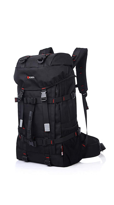 SCRT 新しい大容量旅行バックパックアウトドアバックパックオックスフォード布防水と耐久登山バッグ B07RKKD2XB
