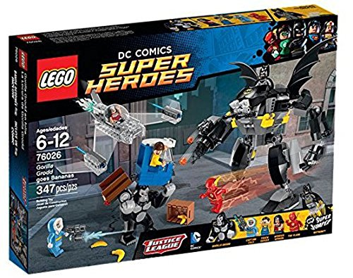 Lego DC Universe Super Heroes 76026 - Gorilla Grodds tantrum [German Version]