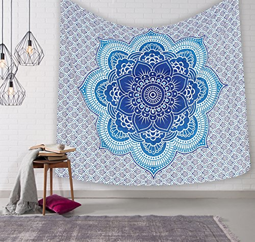 Tapestry Wall Hanging Mandala Tapestries Queen Multi Color Indian Mandala Wall Art Hippie Wall Hanging Bohemian Bedspread