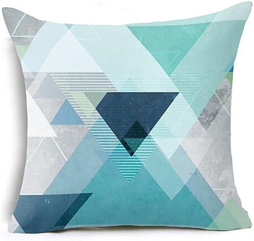 OdeJoy Almohada Super Suave Texture Geometrica, Adornos para la ...