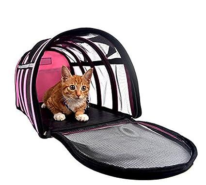 a8b1f962b365 Amazon.com : Portable Pet Carrier Bag Tote Folding Soft Sided Dog ...