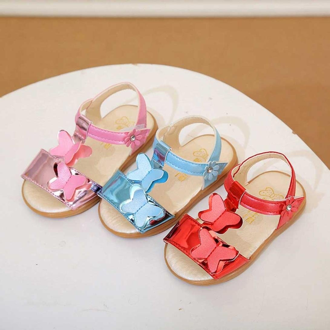 Memela Baby Girls Sandals Baby First Walking Shoes Non-Slip