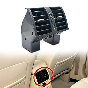 MASO Rejillas de Aire Acondicionado para el salpicadero de la Consola Central Trasera para VW Touran Caddy 2004 - 2015: Amazon.es: Coche y moto