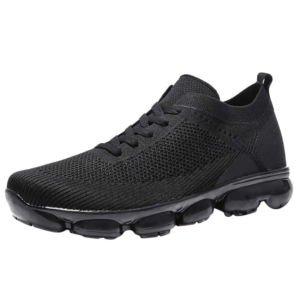 Women Mens Outdoor Sneakers - Flats Lightweight Comfortable Breathable Athletic Casual Non-Slip Walking Shoes