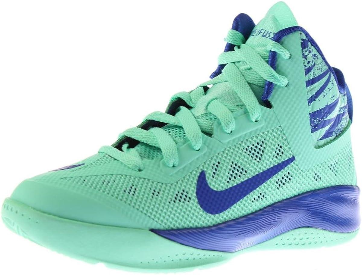 mármol radical Significado  Amazon.com | Nike Kid's Hyperfuse 2013 616603 300 Green Glow Game Royal  (kids 3.5, Green Glow Game Royal) | Basketball
