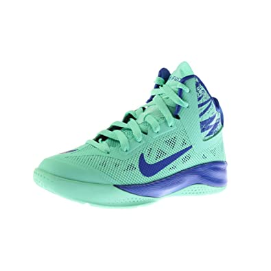 cd8ded29f02 Nike Kid s Hyperfuse 2013 616603 300 Green Glow Game Royal (kids 3.5