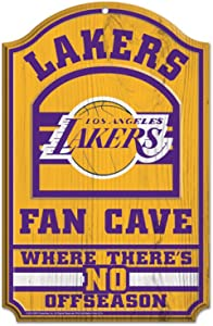 WinCraft NBA Los Angeles Lakers 38393012 Wood Sign, 11