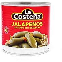 la Costeña, la Costeña Chile Jalapeño Entero 380 Gr, 380 gramos