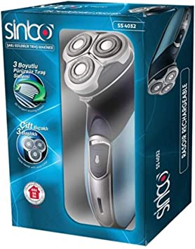 Sinbo - Maquina afeitar recargable 2w,: Amazon.es: Salud y cuidado personal