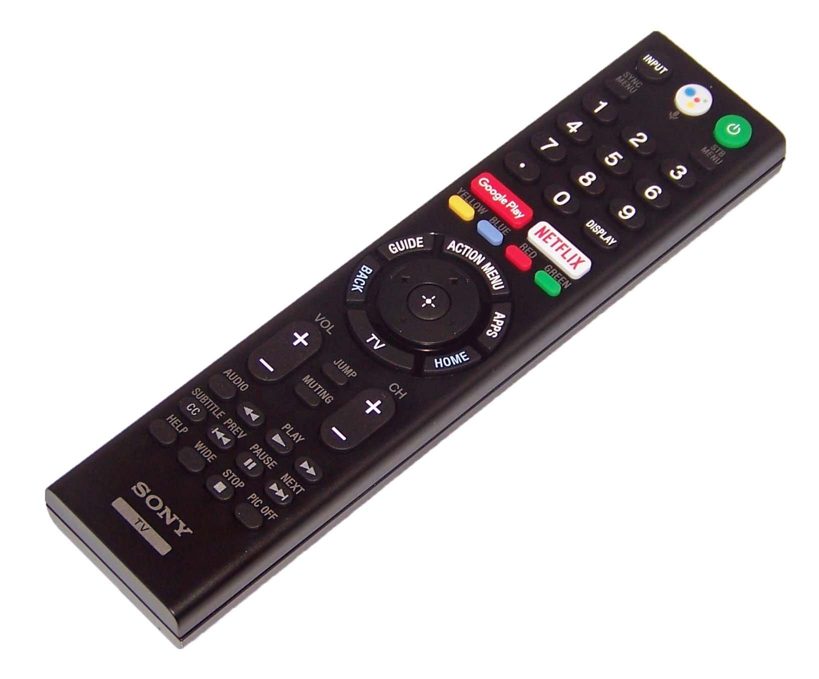 OEM Sony Remote Control Originally Shipped With: XBR49X900F, XBR49X900F, XBR49X900F, XBR-49X900F, XBR55X850F, XBR55X850F