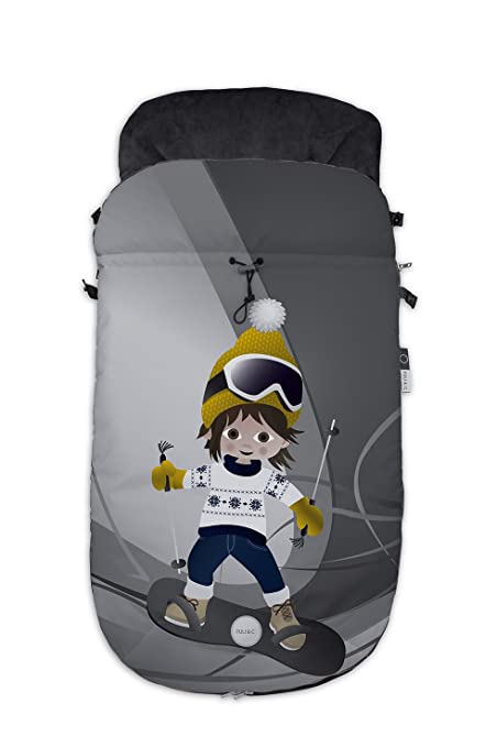 Fuli&co Aspen - Saco universal para silla de paseo, 93.5 x 45 x 5 cm ...