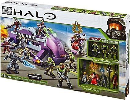 Halo Mega Bloks Exclusive Set #97521 Anniversary Collection: Hierarchs  Shadow Convoys Action Figure