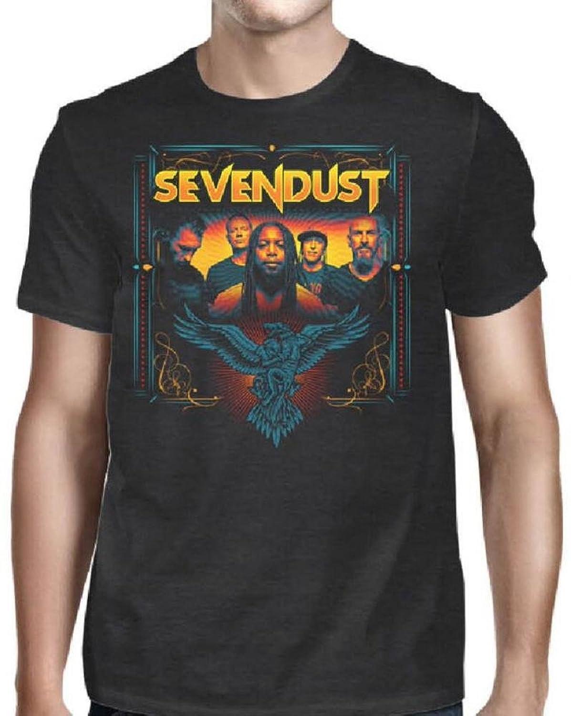 Sevendust Group Photo T-Shirt-L